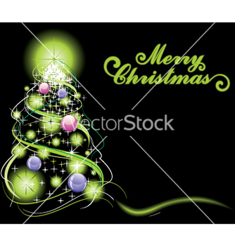 Free christmas tree vector - Free vector #268389