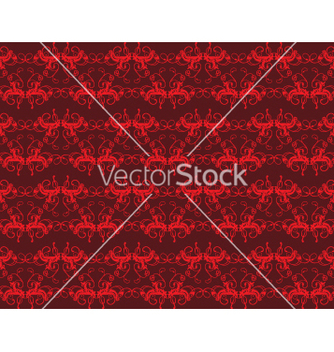 Free floral seamless background vector - Kostenloses vector #268409