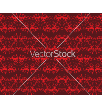 Free floral seamless background vector - vector gratuit #268409