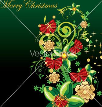 Free merry christmas vector - бесплатный vector #268639
