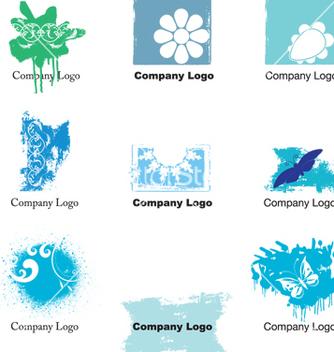 Free grunge logos vector - Kostenloses vector #268679