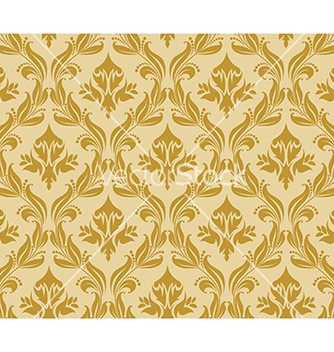 Free damask pattern vector - Free vector #268729