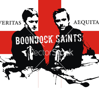Free boondock saints vector - бесплатный vector #268779
