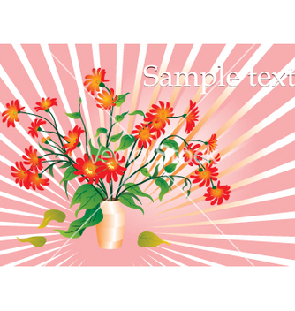 Free floral template vector - Free vector #268889