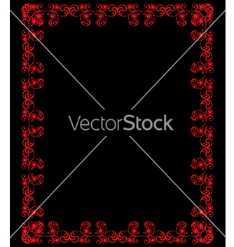 Free vintage frame vector - Free vector #268899