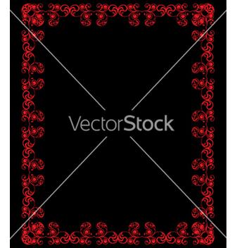 Free vintage frame vector - vector gratuit #268899
