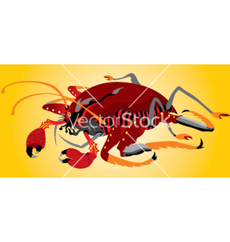 Free crab vector - vector gratuit #268959