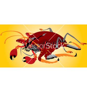 Free crab vector - бесплатный vector #268959