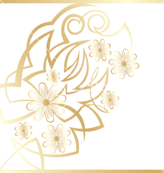 Free abstract flower background vector - Kostenloses vector #268989
