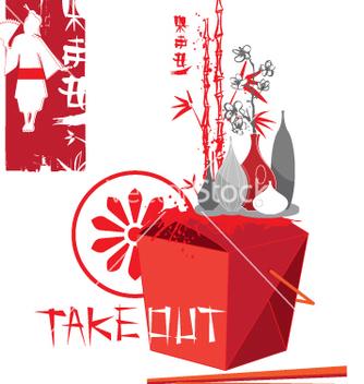 Free take out vector - бесплатный vector #269389