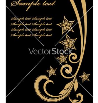 Free golden template vector - Kostenloses vector #269639