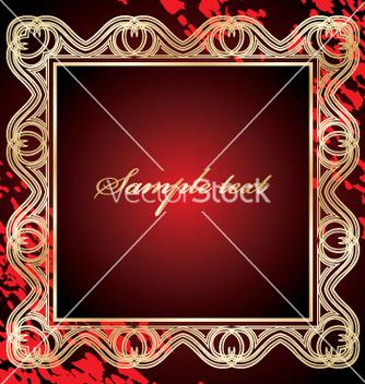 Free golden frame vector - Free vector #269709