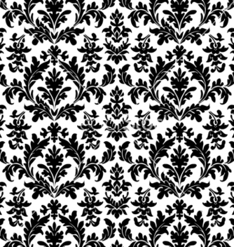 Free floral wallpaper seamless vector - Free vector #270049