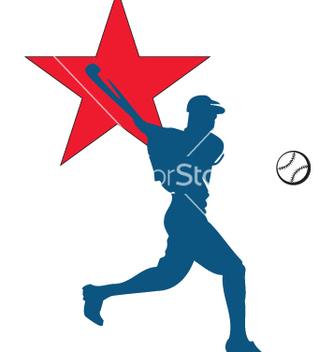 Free baseball vector - vector gratuit #270079