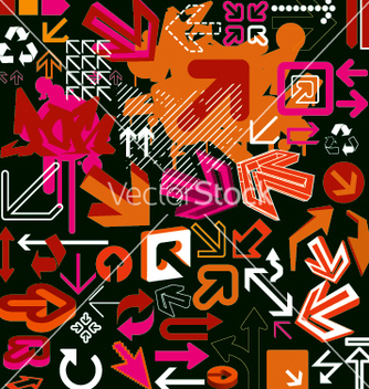 Free graphic arrow vector - Free vector #270159