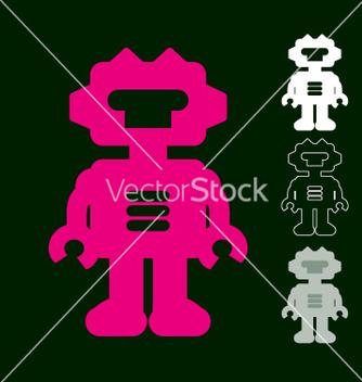 Free robot vector - Free vector #270559