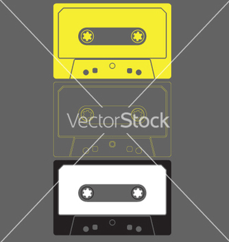 Free audio cassette graphic vector - Free vector #270569