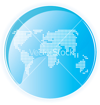 Free high tech gloss world dots vector - Free vector #270579