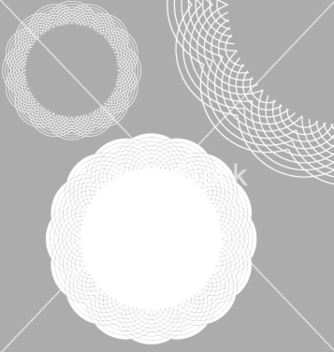 Free lace doily vector - Free vector #270599