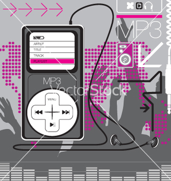 Free mp3 player vector - Free vector #270699