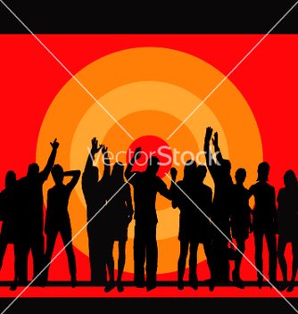 Free party people vector - Free vector #270869
