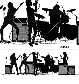 Free rock and roll vector - vector gratuit #271119