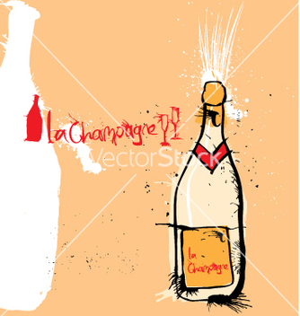 Free la champange vector - vector #271239 gratis