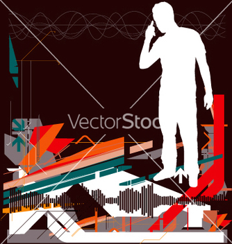 Free high tech background vector - бесплатный vector #271289