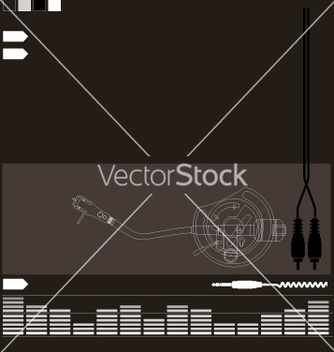 Free dj audio elements vector - Kostenloses vector #271359
