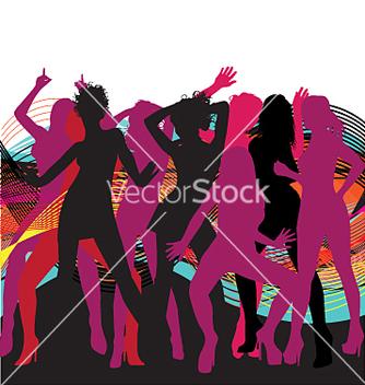 Free dancin girls vector - Free vector #271449