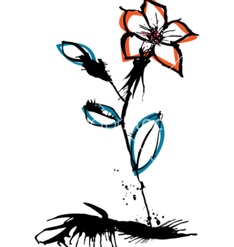 Free flower sketch vector - Free vector #271549