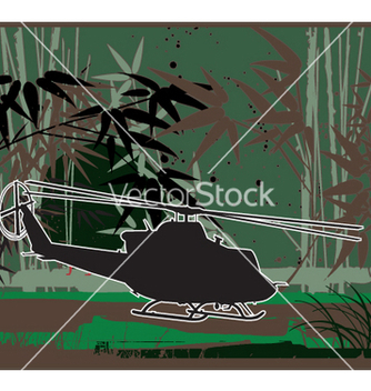 Free army chopper iroquois vector - Free vector #271569
