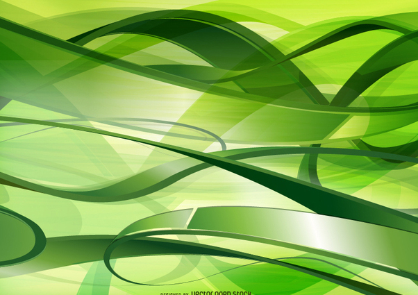 Green Technology and communications background - Free vector #271589