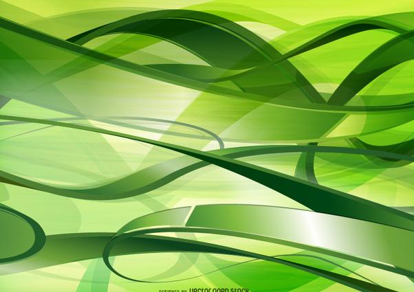 Green Technology and communications background - бесплатный vector #271589