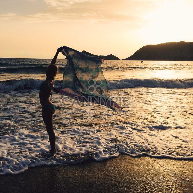 Chica en el mar - image #271819 gratis