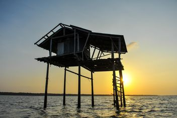 Fishermen house - image #271979 gratis
