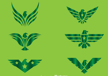 Hawk Green Logo Vectors - бесплатный vector #272409