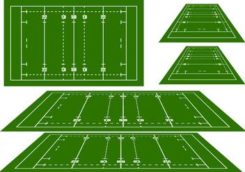 Rugby Arena Vectors - vector #272429 gratis