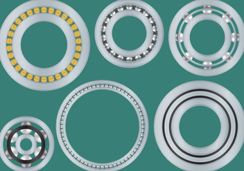 Chrome Vector Bearings - Free vector #272659