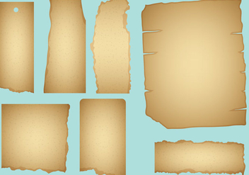 Burned Paper Vectors - vector #272669 gratis
