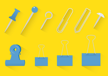 Office Supply Vector - Free vector #272689