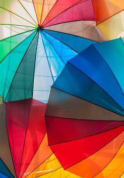 Rainbow umbrellas - image #273129 gratis