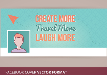 Facebook Cover Vector - бесплатный vector #273239