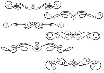 Fancy Lines Ornament - Free vector #273389
