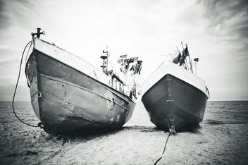 Fishing boats - image #273579 gratis
