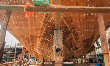 restoration of fishing boat - image gratuit #273589