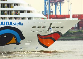 Cruise ship Aida Stella Starts from Hamburg - Free image #273729