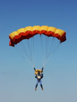 Parachute flight - Kostenloses image #273759