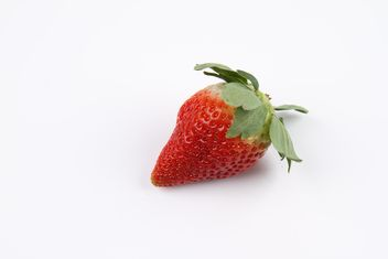 Strawberry isolated - image #273809 gratis