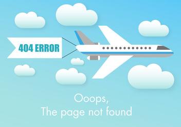 Free 404 Error Vector - Free vector #274139